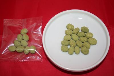 四国中央市・県学給共同開発 四国中央市産抹茶粉使用煎り大豆(休売)
